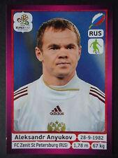 Panini 116 Aleksandr Anyukov Russland EURO 2012 Poland - Ukraine