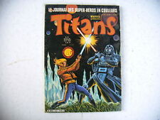BD - TITANS n° 43 marvel 1982