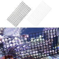 Aquarium Fish Tank Separator Divider Screen Net Crate Separate Fry Suction Cups