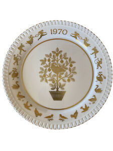 Vintage 1970 Spode Christmas Decorative Collector Plate