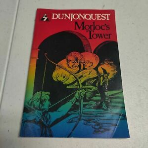 Vintage TRS-80 Dungeon Quest: Morloc's Tower Manual (1979) Instruction Book