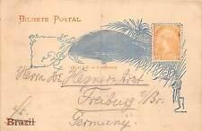 BG32736 brasil bilhete postal