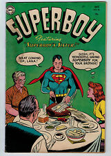SUPERBOY #36 2.5 1954 PRE CODE OFF-WHITE PAGES GOLDEN AGE