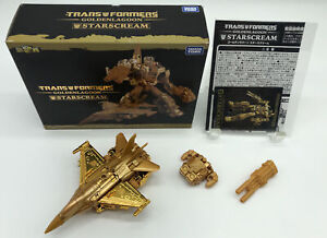 Takara Tomy Transformers Golden Lagoon StarScream Action Figure w/ Tracking NEW