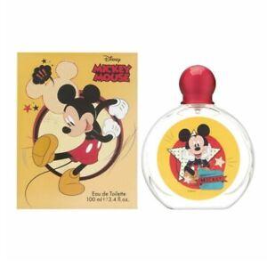 Disney Mickey Mouse EDT Eau de Toilette Spray for Kids 100 ml (3.4 oz)  - Yellow