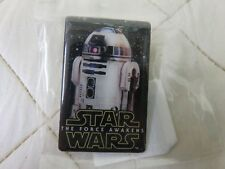 Star Wars Promo Pins Bell Force Awakens Movie R2D2 Robot Droid Pin Button