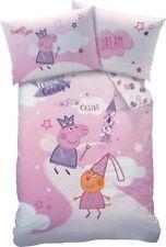 Peppa Pig Wutz Bettwäsche Baby Flanell Baumwolle rosa