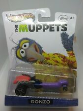 New 2012 The Muppets Disney Gonzo Hot Wheels 1:64