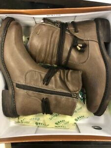 Spring Step Kathie Boot Taupe Mid Boot NWB Sz 39 (US 8.5)