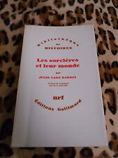 Les sorcières et leur monde - Julio Caro Baroja - Gallimard, 1972