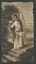santino antico  del Angel Custodio image pieuse holy card estampa