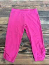 Gymboree Mix N Match Solid Pink Leggings Capri Girls Nwt Size 5t