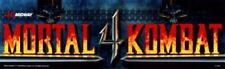 "Mortal Kombat 4 Arcade Marquee 25"" x 7.5"""
