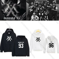 Kpop MONSTA X Cap Hoodie THE CLAN 2.5 Part.1 LOST Sweatershirt Sweater Coat