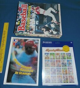 TOPPS PANINI BASEBALL STICKER BOOKS - 1982 1983 1984 1985 1986 lot MLB