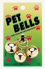 Coastal Round Cat Bells Gold 3-Pack     Free Shipping