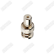 BNC-RCA Adapter RCA Jack to BNC plug for Video Camera Connector adapter