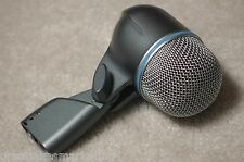SHURE BETA-52a KICK DRUM MICROPHONE beta52 beta 52a beta52a 52 beta-52 bass mic