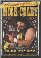 WWE - Mick Foley: Greatest Hits & Misses (DVD, 2007, 3-Disc Set) {2353}
