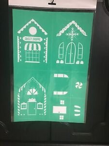 Chalk Couture Ginger Bread House Transfer New