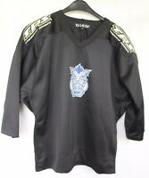 LOUISVILLE HOCKEY TPS Ice Hockey Jersey Shirt Black sz 1