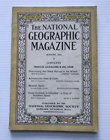 National Geographic Magazine - August 1924 - Adventurous Sons Of Cadiz