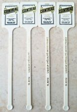 VINTAGE COINTREAU LIQUOR FRANCE SWIZZLE STICK LOT OF 4-FREE USA SHIPPING