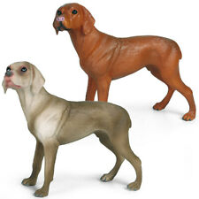 German Weimaraner Dog Model Pet Animal Figure Toy Collector Decor Kids Gift
