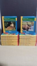 Getting To Know Nature's Children Set 24 Book Scholastic HB Lot NEW