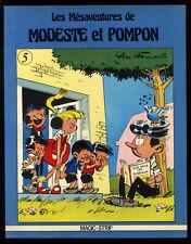 MODESTE ET POMPON (Les Mésaventures de) n°5   Dino ATTANASIO  MAGIC-STRIP  1980