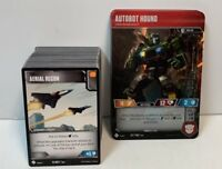 Transformers TCG * Complete WAVE ONE COMMON/UNCOMMON BATTLE/CHARACTER Playset *