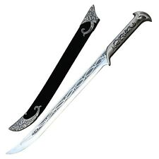Fantasy Movie Replica ElvenKing Sword Velvet Sheath Included 18 Inch Blade