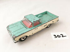 RARE DINKY TOYS #449 CHEVROLET EL CAMINO PICKUP DIECAST CAR TURQUOISE/WHITE 1961