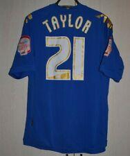 PORTSMOUTH ENGLAND 2011/2012 HOME FOOTBALL SHIRT JERSEY KAPPA #21 TAYLOR
