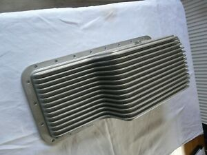 Triumph Tr5 /TR6 finned alloy sump with new uprated gasket and set of fittings