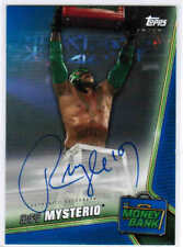 2019 TOPPS WWE MONEY IN THE BANK REY MYSTERIO A-RM AUTOGRAPH AUTO BLUE /50