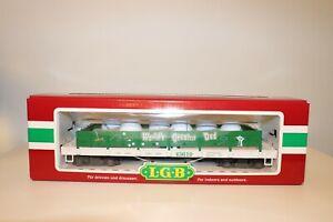 """Rare LGB G Scale """"Worlds Greatest Dad"""" Golf Ball Gondola With 6 LGB Golf Balls"""