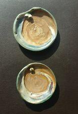 Philippa James Australian pottery dishes x2