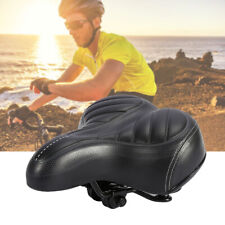 Wide Big Bum Saddle Seat Bike Bicycle Gel Cruiser Comfort Sporty Soft Pad