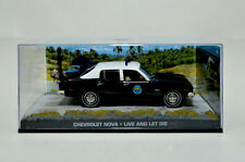 James Bond Modellauto-Collection Chevrolet Nova