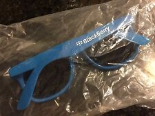 BlackBerry (RIM) Logo Sunglasses (BLUE) * Promo * Swag * TeamBlackBerry