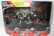 Transformers Special Value Arcee, Starscream, & Optimus Prime with Battle Damage