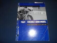 HARLEY DAVIDSON BUELL 2003 FIREBOLT XB9R OFFICIAL PARTS BOOK MANUAL 99574-03YA