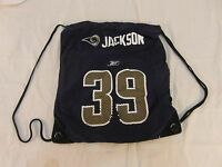 St. Louis Rams Stephan Jackson Home Jersey Shoulder Strap Backpack 31763