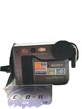 Vtg Sony Digital Mavica MVC-FD73 10x Optical Zoom One CD-R Included Untested