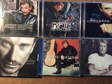 Johnny Hallyday [6 CD Albums] Al la vie + cigale + chantait + MA VERITE + paroles +...
