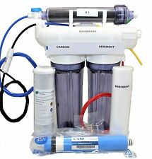 Reverse Osmosis Deionization System 4 Stage 80 GPD Aquarium Water Filter Reef