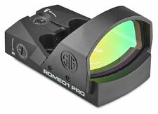 Sig Sauer Romeo1Pro 1x30mm Red Dot Sight, 3 Moa Dot Reticle, Aircraft : Sor1P100