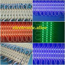 20-100-500pcs 5050 Smd 3/5/6 led Module Light Fairy Strip Waterproof 12V letter