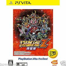 Dai-3-ji Super Robot Taisen Z (the Best) PS Vita Sony Japanese Japanzon